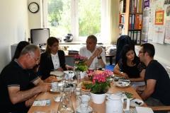 18. Juni 2019: Besuch in der Fritz-Karsen-Schule in Neukölln in Vorbereitung einer Schulpartnerschaft