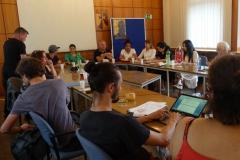 20. Juni 2019: Evaluationsveranstaltung zum Besuchsabschluss im Rathaus Kreuzberg