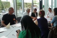 20. Juni 2019: Treffen der Delegation aus Dêrik mit dem Bundestagsabgeordneten Pascal Meiser (DIE LINKE)