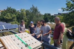 17. Juni 2019: Besichtigung des Ökoprojekts Ufa-Fabrik