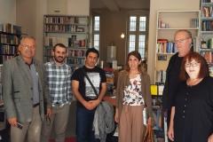 8. Juni 2019: Besuch des Partnerbuchladens in Kreuzberg