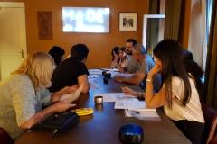 7. Juni 2019: Erste Programmbesprechung mit der Delegation aus Dêrik