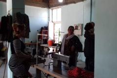 Nähwerkstatt in Shengal Stadt